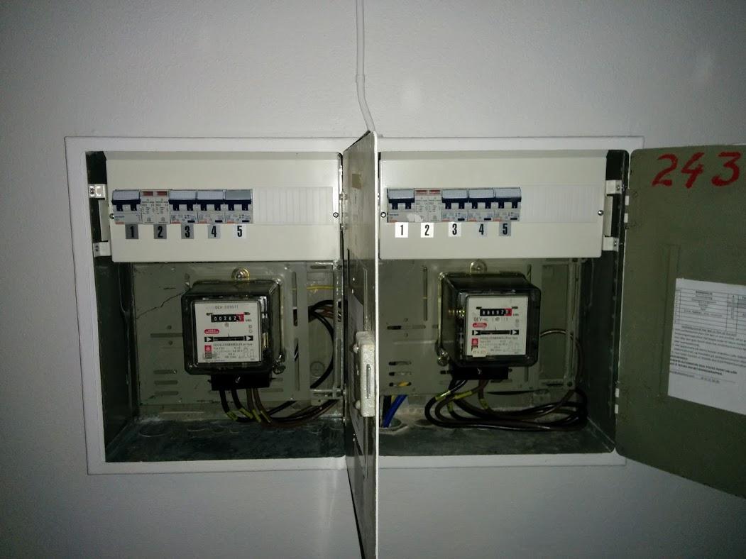 Bølerbakken nytt elektrisk anlegg med nytt sikringsskap
