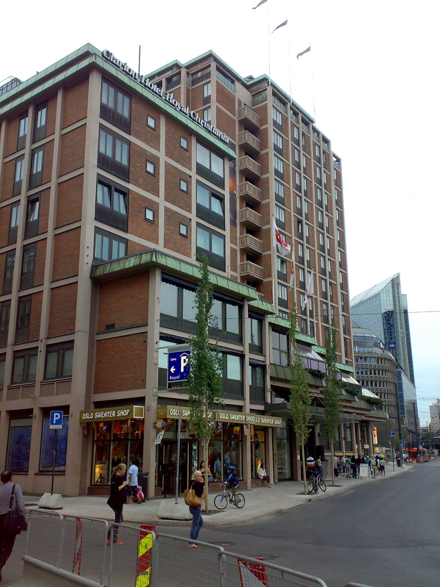 Referanse Rehabilitering Christiania Hotel Fasade