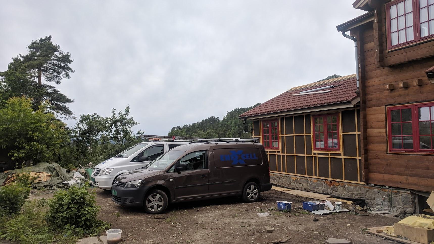 Installasjon Rehabilitering VillaSole Tunstua 6