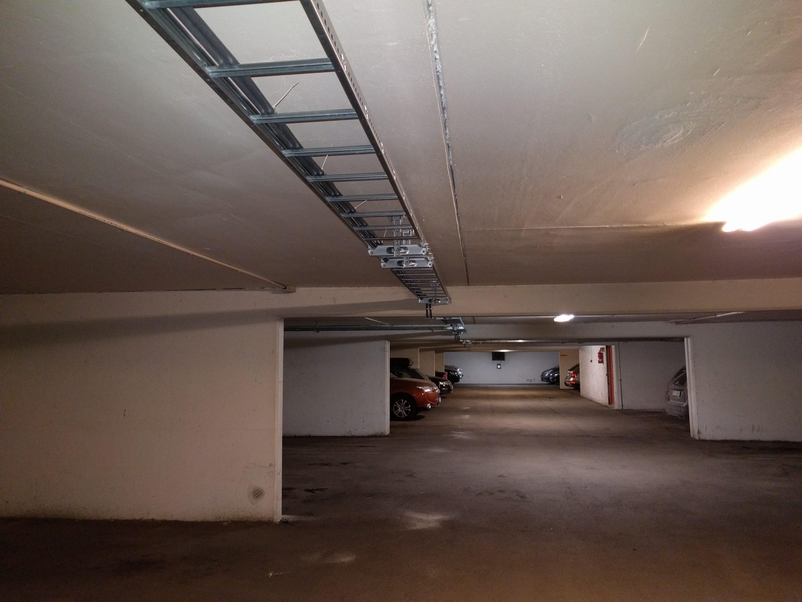 Verksgata, Elbil Kabelstige for strøm i parkeringshus