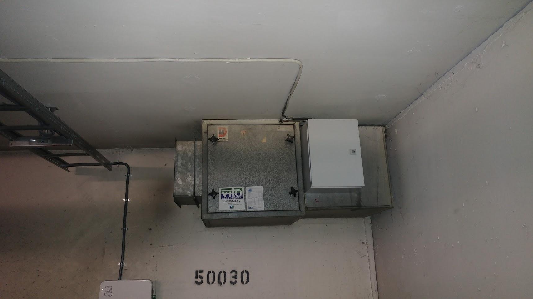 Verksgata, Ventilasjon - Frekvensomformer