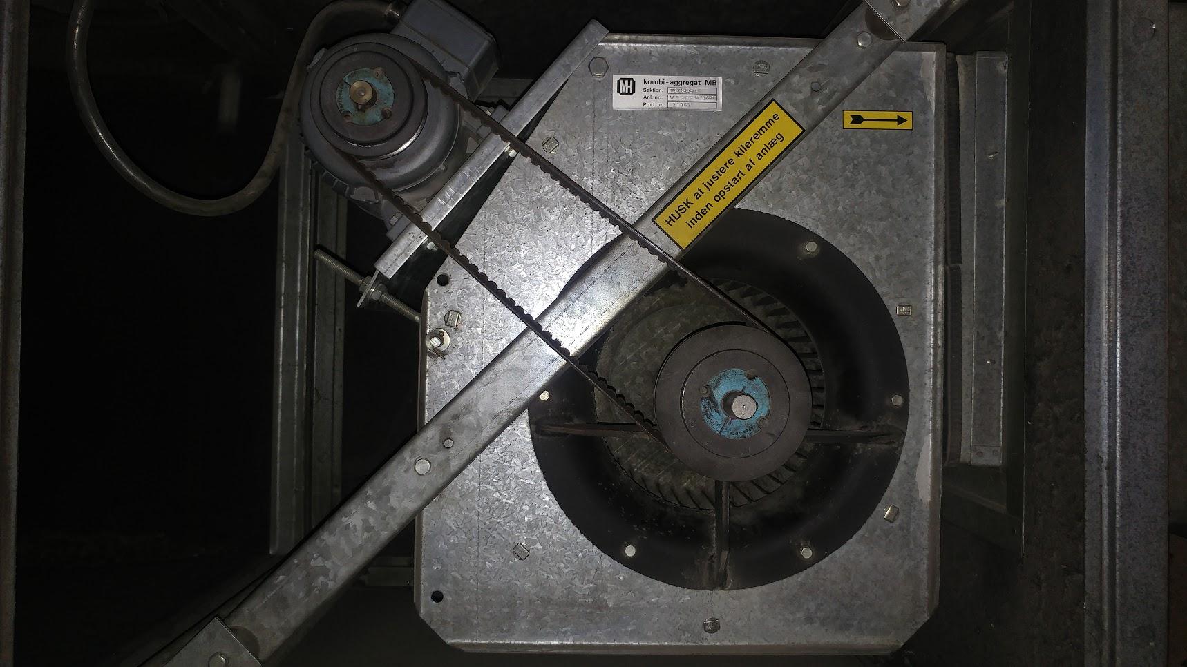 Verksgata, Ventilasjon - Utskifting ventilasjonsaggregat