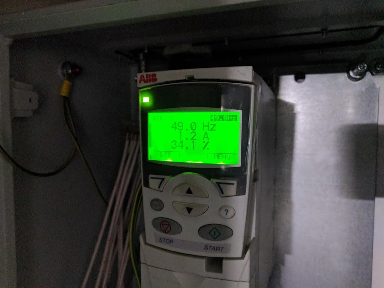 Verksgata, entilasjon - Frekvensomformer 2
