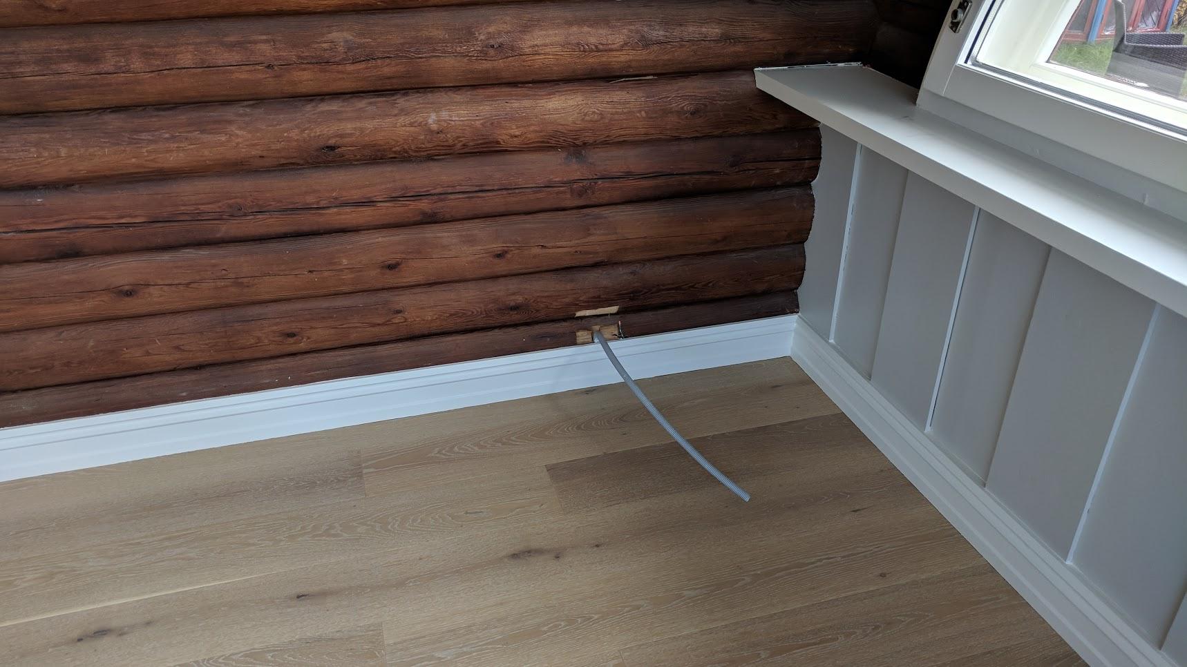 Referanse Installasjon VillaSole skjult elektrisk anlegg